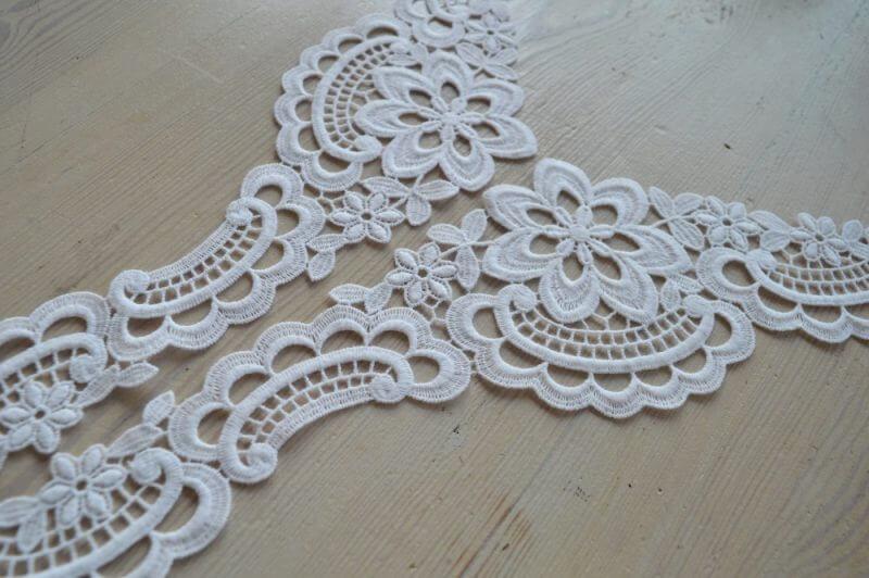 Guipure Lace motif