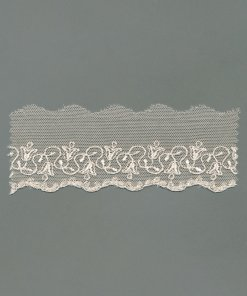 Cotton Tulle Embroidery Edging