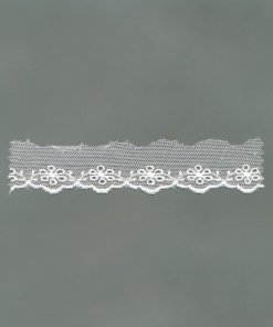 Embroidered Cotton Tulle Lace