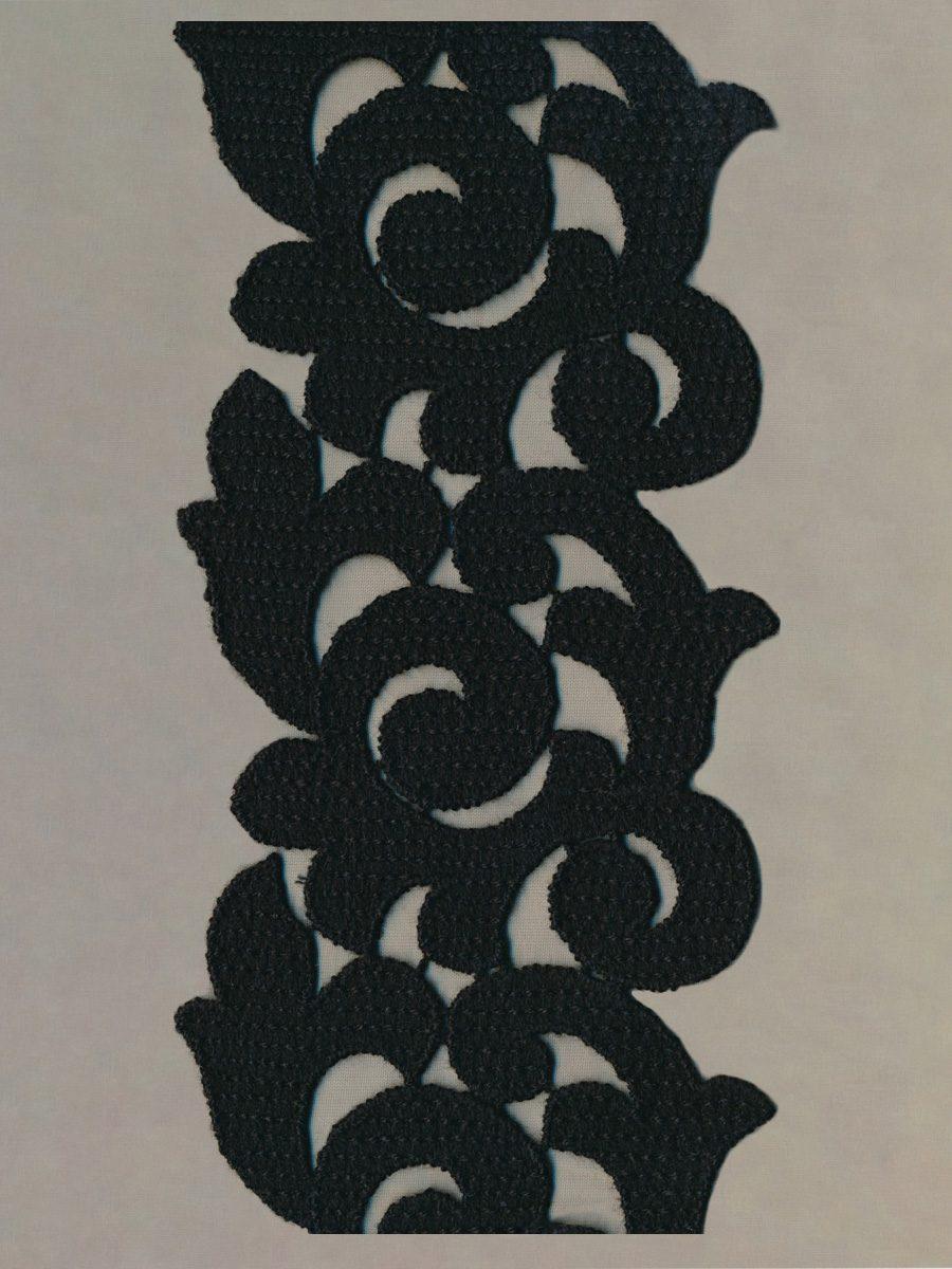 Stickereiband Wolle