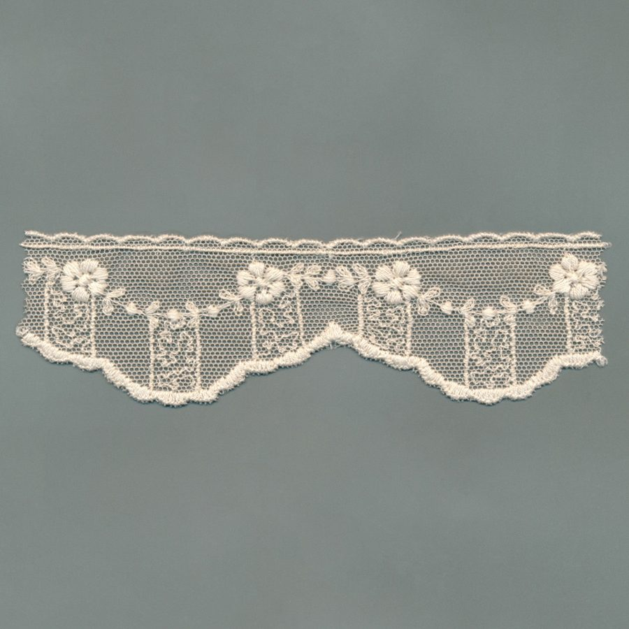 Cotton Tulle Vintage Lace