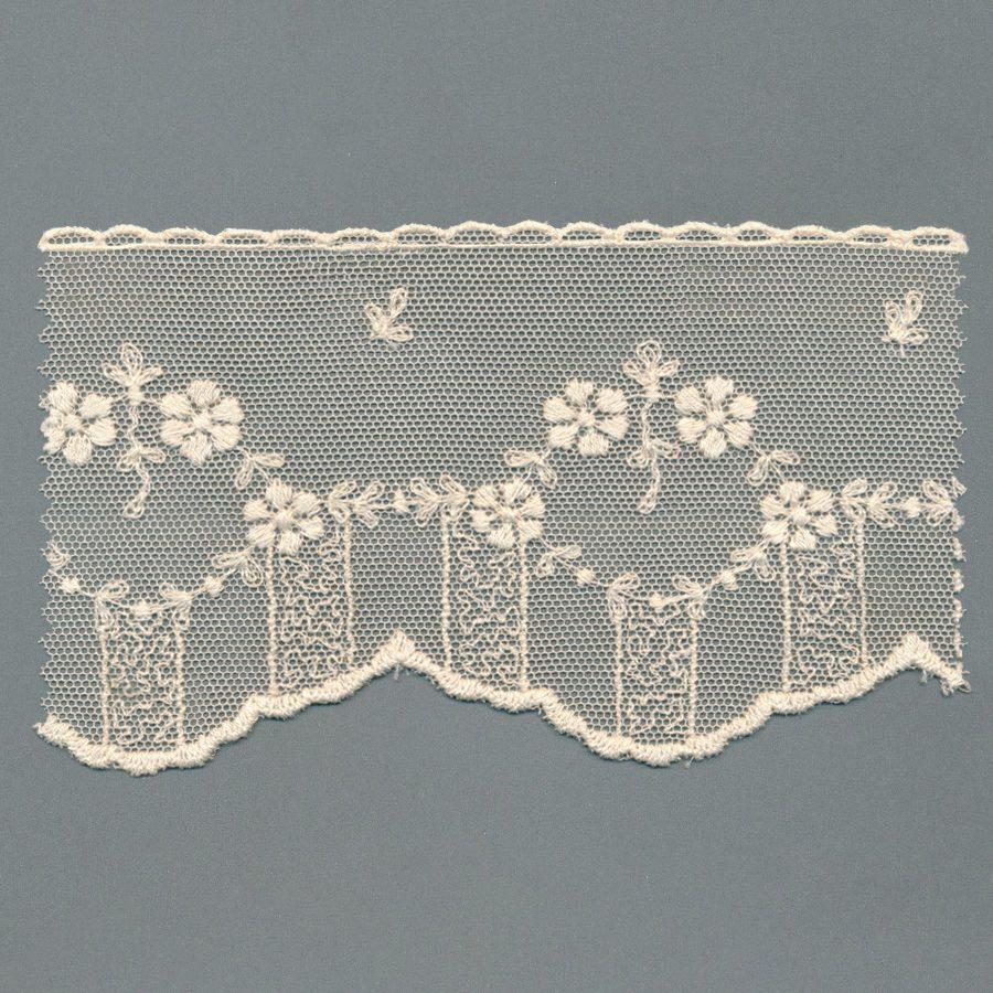 Cotton Tulle Vintage Lace