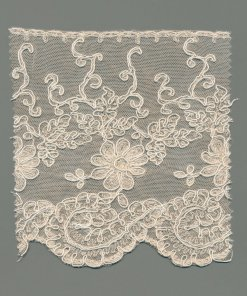 Corded Swiss Tulle Machine Lace