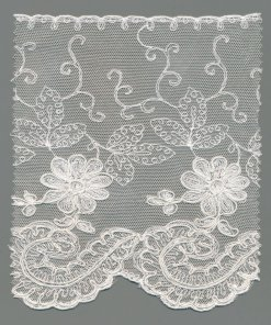 Swiss Tulle Machine Embroidery