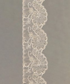 Beaded Vintage Tulle Embroidery