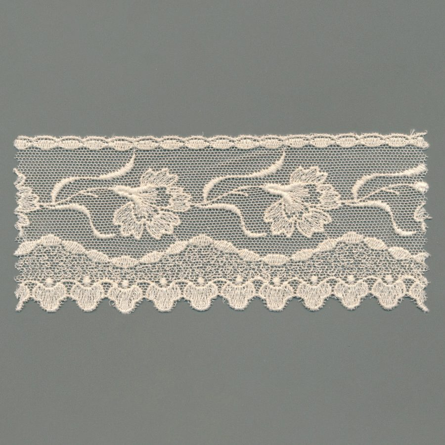 European Cotton Tulle Embroidery