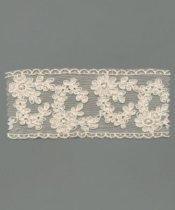 Corded Vintage Tulle Embroidery
