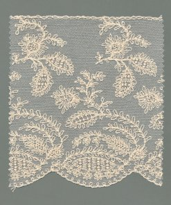 Embroidered Cotton Tulle Fabric