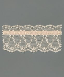 Cotton Tulle Embroidery