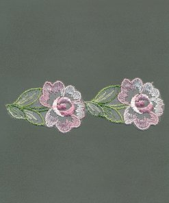 Organdy Embroidery Motif