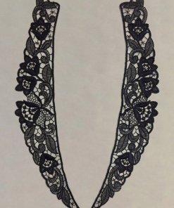 Machine Embroidery Collar