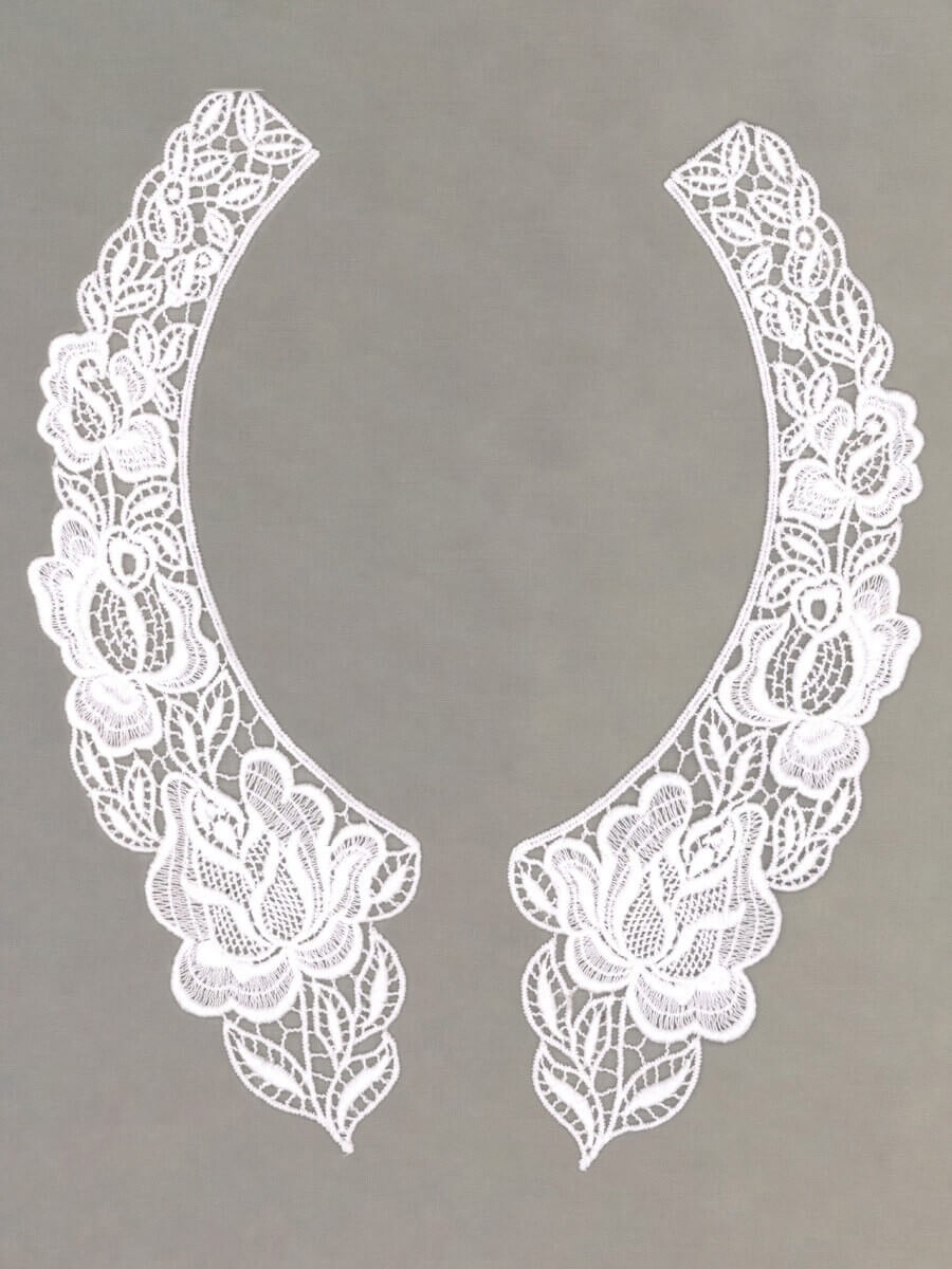 Cotton Guipure Collar