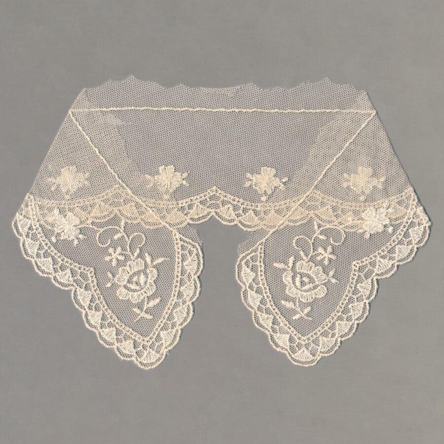 Vintage Cotton Tulle Collar