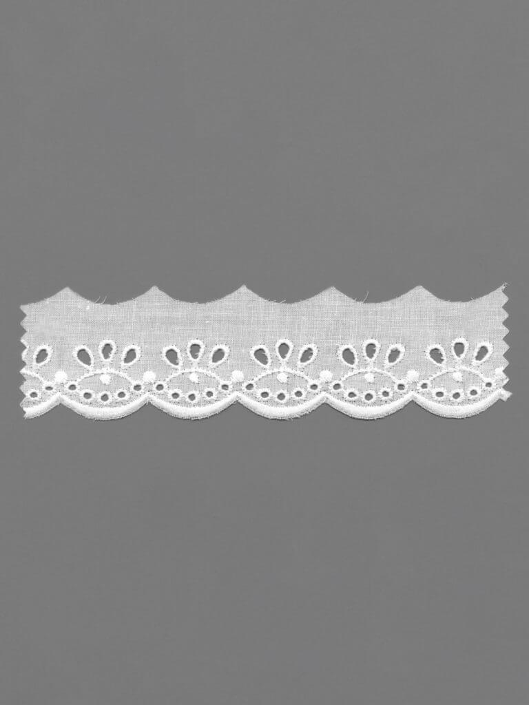 Broderie Anglaise Edging Lace
