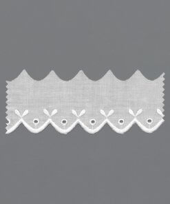 Broderie Anglaise Machine Embroidery