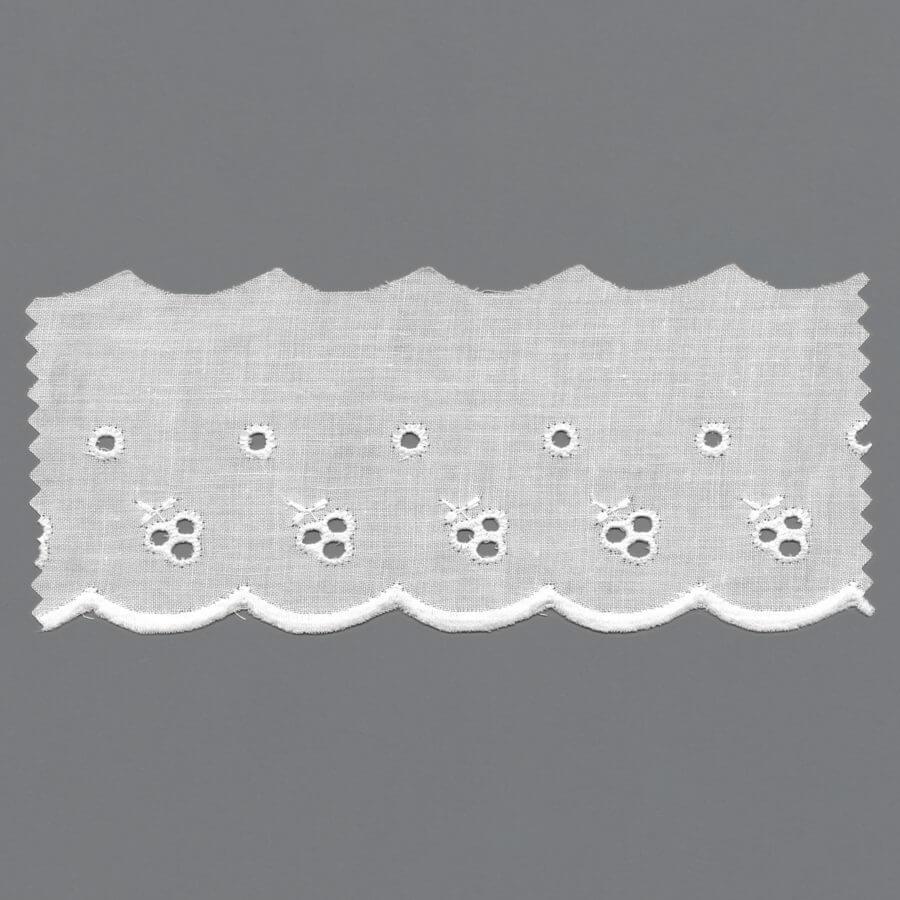 Cotton Schiffli Machine Embroidery
