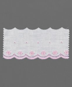 Printed Broderie Anglaise Lace