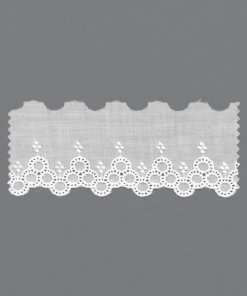 European 100% Cotton Embroidery