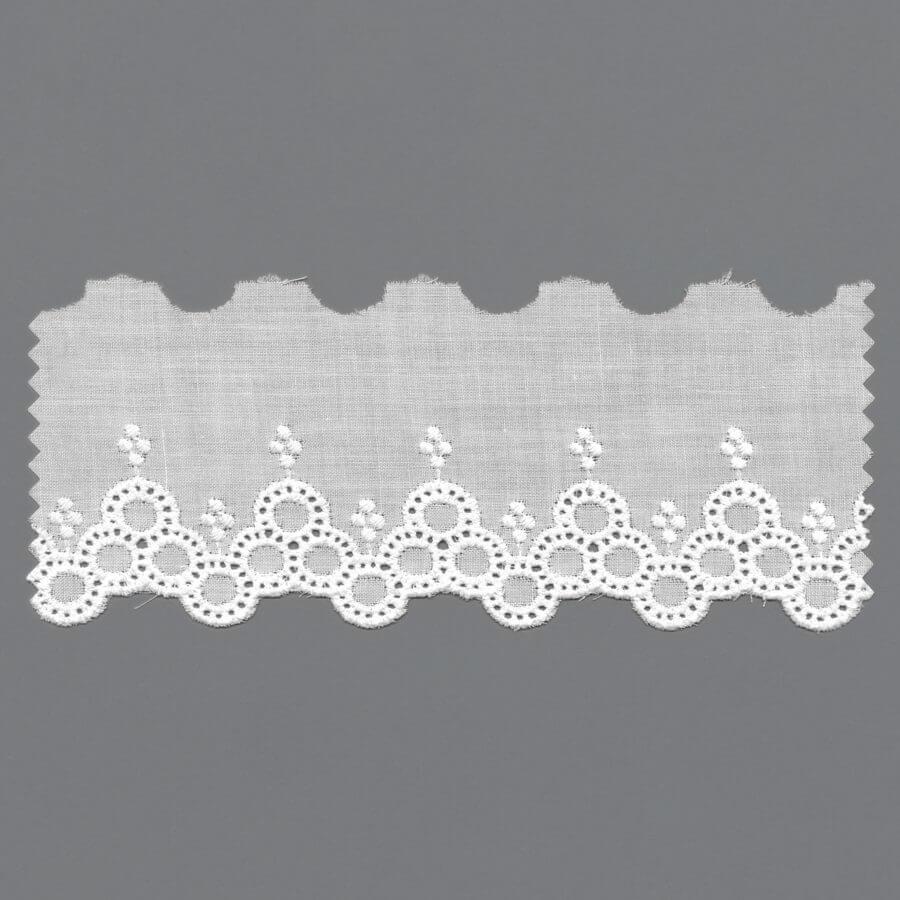 European 100% Cotton Embroidery