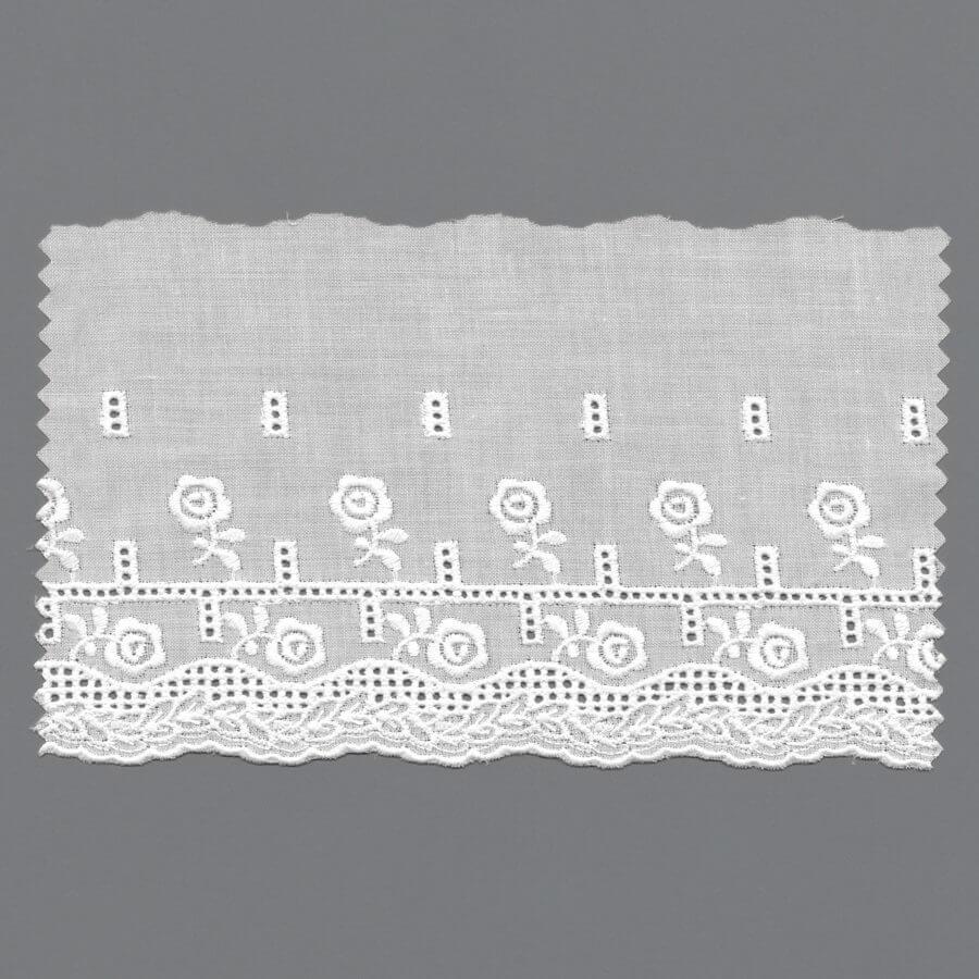 Cotton Machine Embroidery