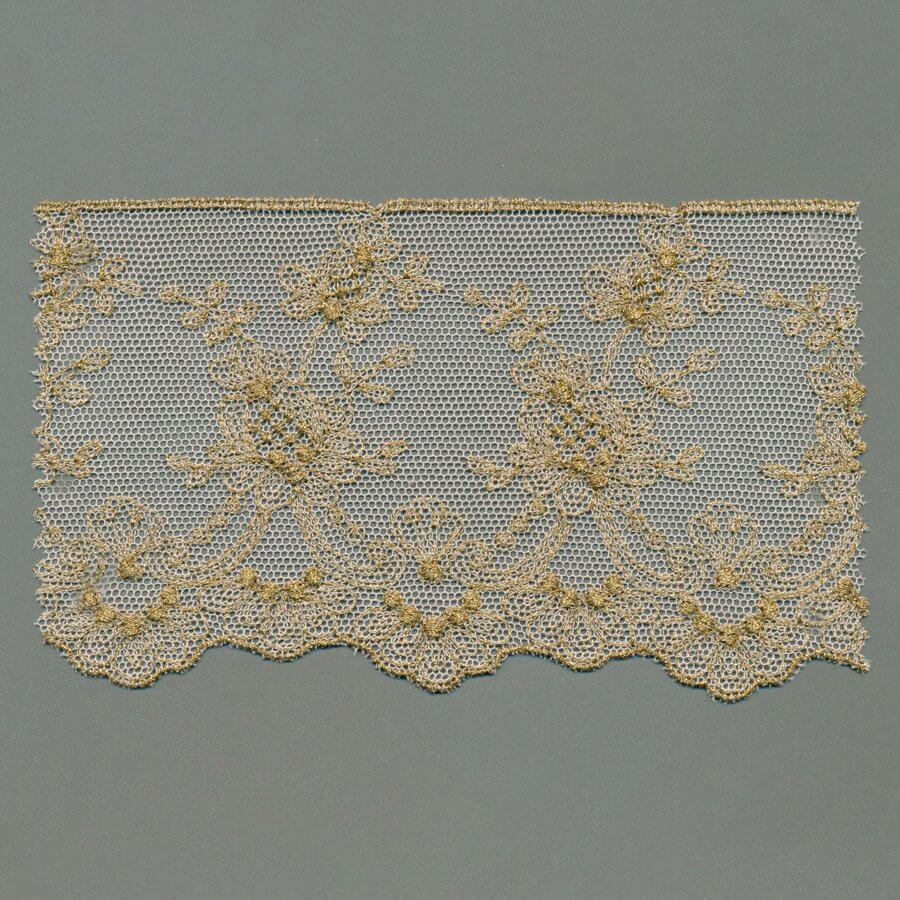 Lurex Tulle Embroidery