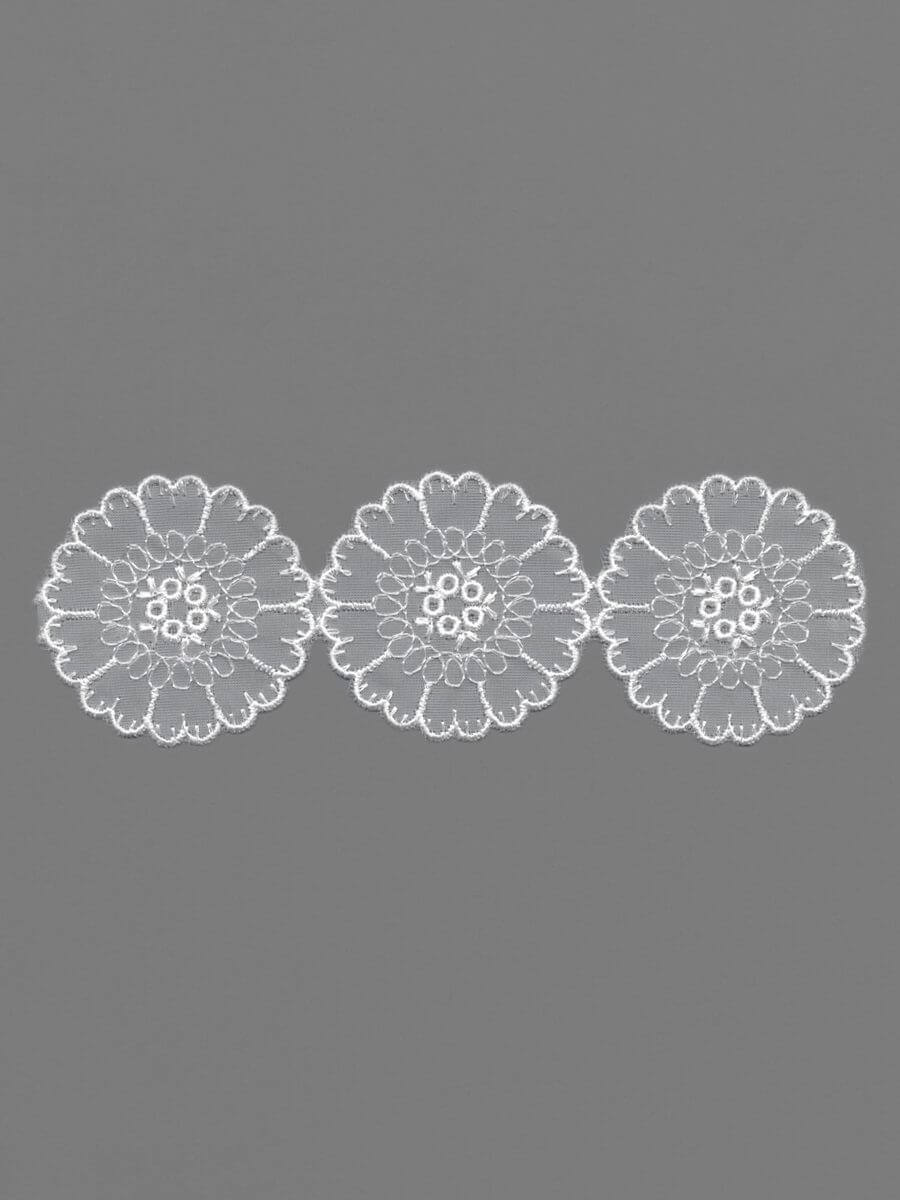 Polyester Organdy Embroidery