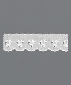 100% Cotton Broderie Anglaise