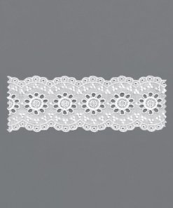 Cotton Eyelet Trim