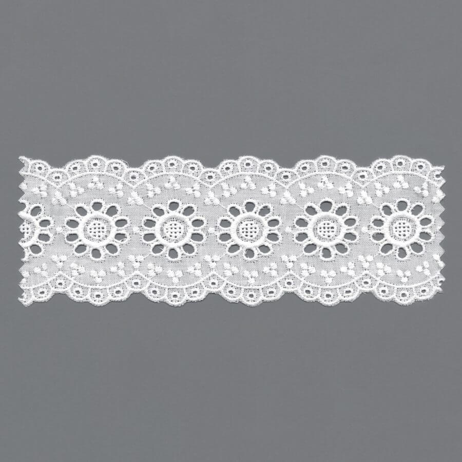 European Embroidery Broderie Anglaise Trim