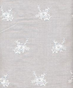 Cotton-bend Embroidered Allover Fabric