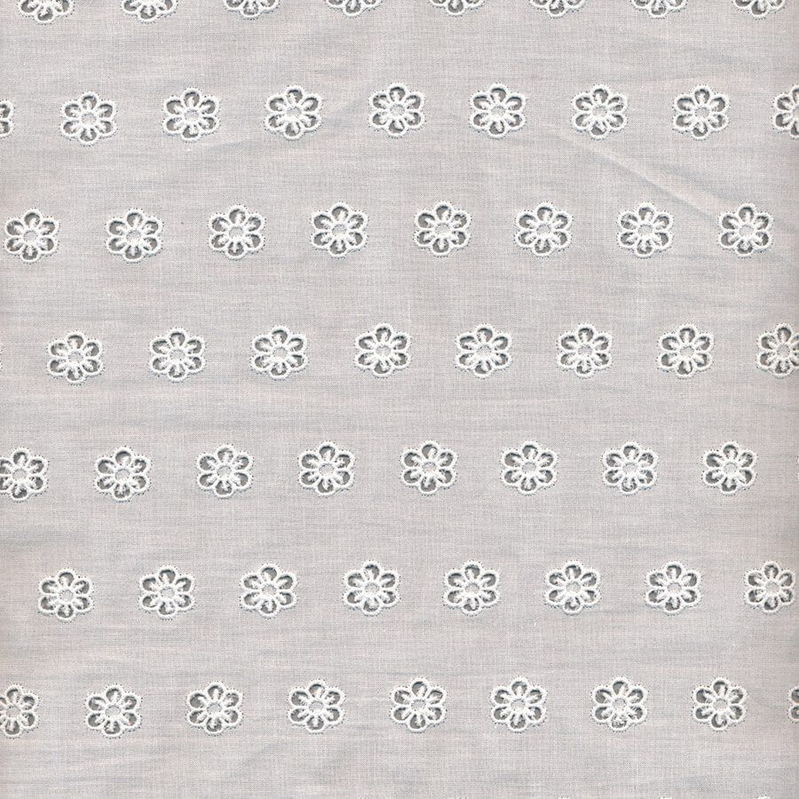 Broderie Anglaise Allover Fabric