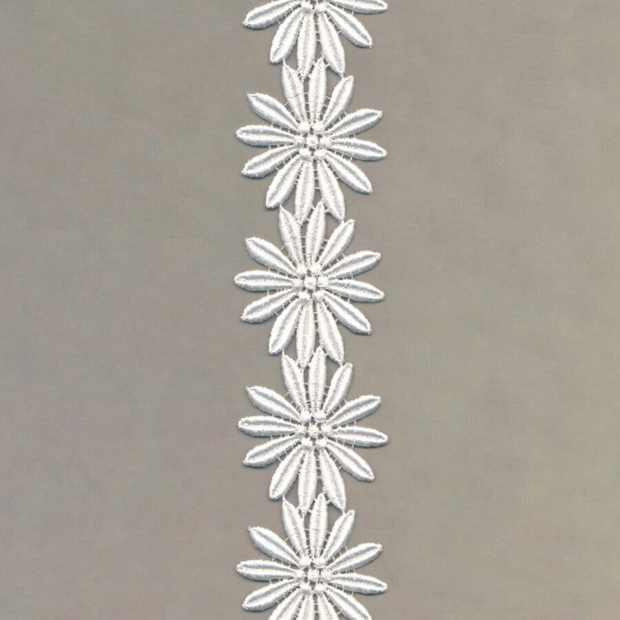 Embroidery Trim Flowers