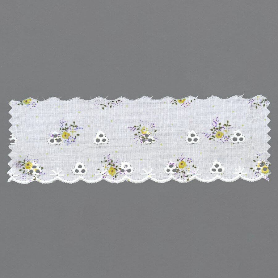 Printed Broderie Anglaise Edging