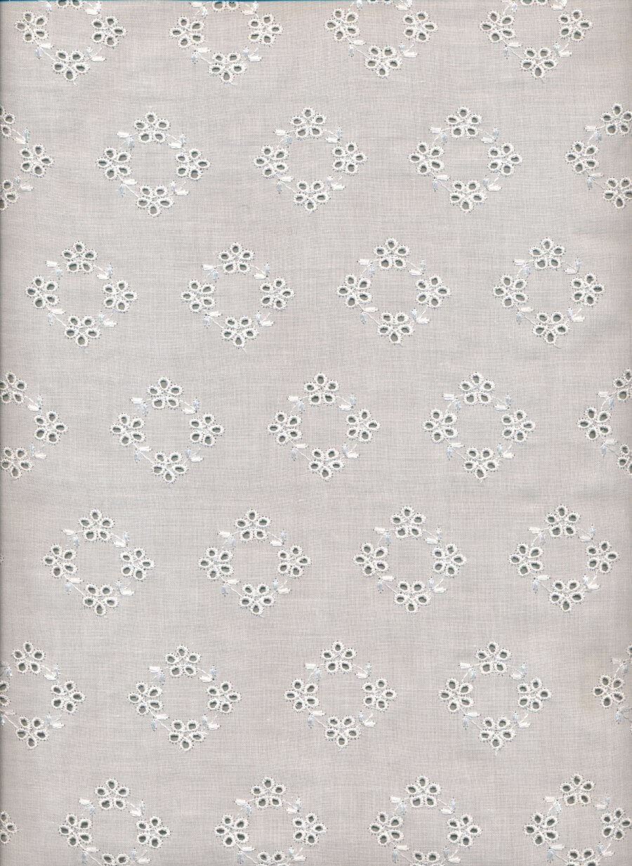 Rayon-embroidered-Cotton-Broderie-Anglaise-Allover