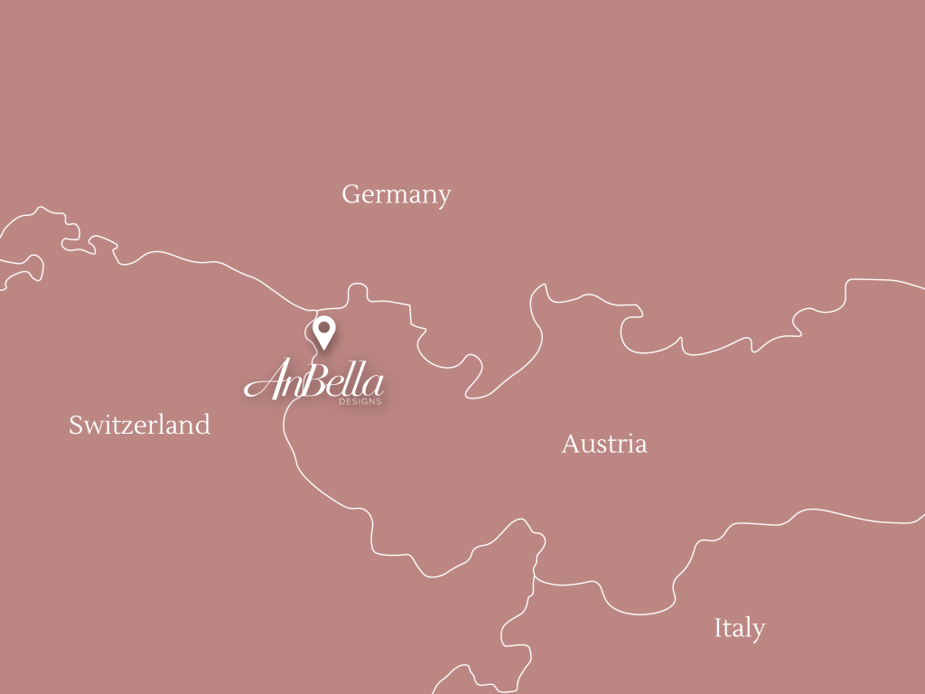 map showing where AnBella is located