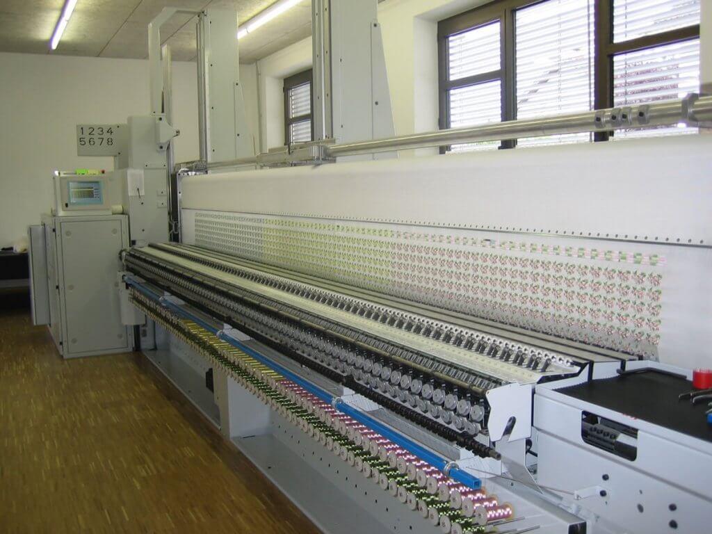 Schiffli Machine