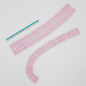 Clover Curve Ruler with Mini Ruler
